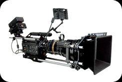 RED One camera with Cooke Techno 25 - 250 zoom and Arri matte box