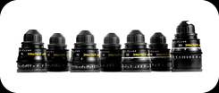 Zeiss Ultra Prime lens set for RED One